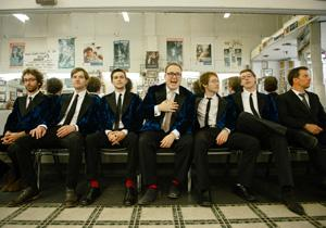 St. Paul & The Broken Bones appear at a live Mountain Stage show November 23 at the Culture Center Theater.