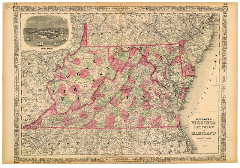 Many western Virginia residents had few options because the U.S. Constitution forbids any state to be carved from another state without the original state's approval.