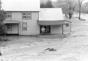 Parsons suffered significant damage due to the rains brought on by Tropical Storm Juan