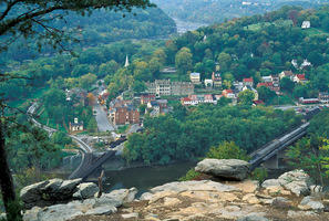 Harpers Ferry was the site of the US Armory, and played a vital role before and during the Civil War.