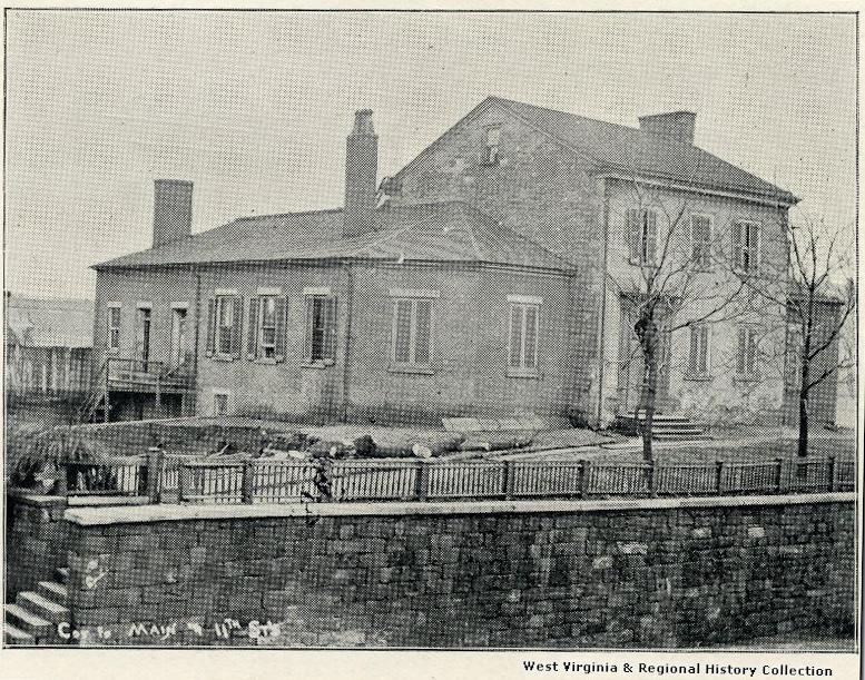 Ebenezer Zane's homestead.