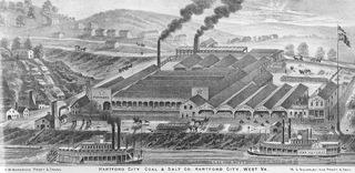 In the early 1800s, Kanawha County became the salt-producing capital of the nation.