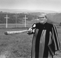He later recalled that the spirit of God had told him to build crosses across the countryside.