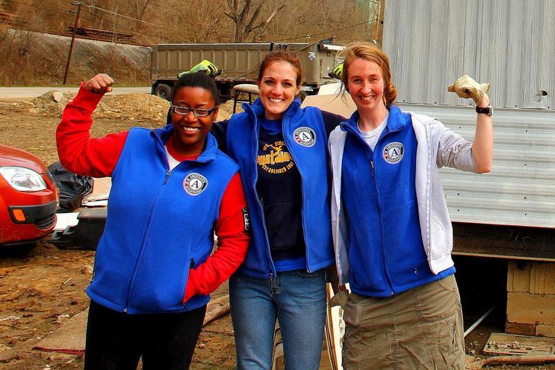AmeriCorps volunteers serving in W.Va. in 2015