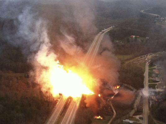 December 2012 Sissonville Pipeline Explosion