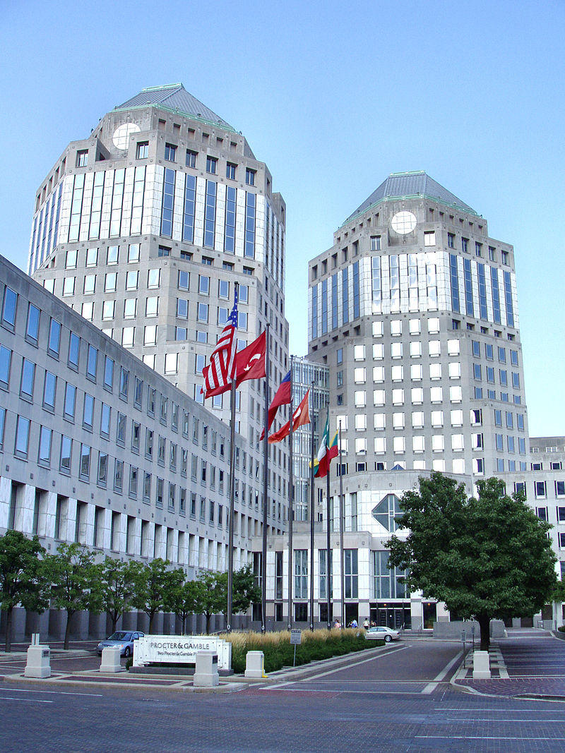 Procter & Gamble Headquarters in Cincinnati, OH.