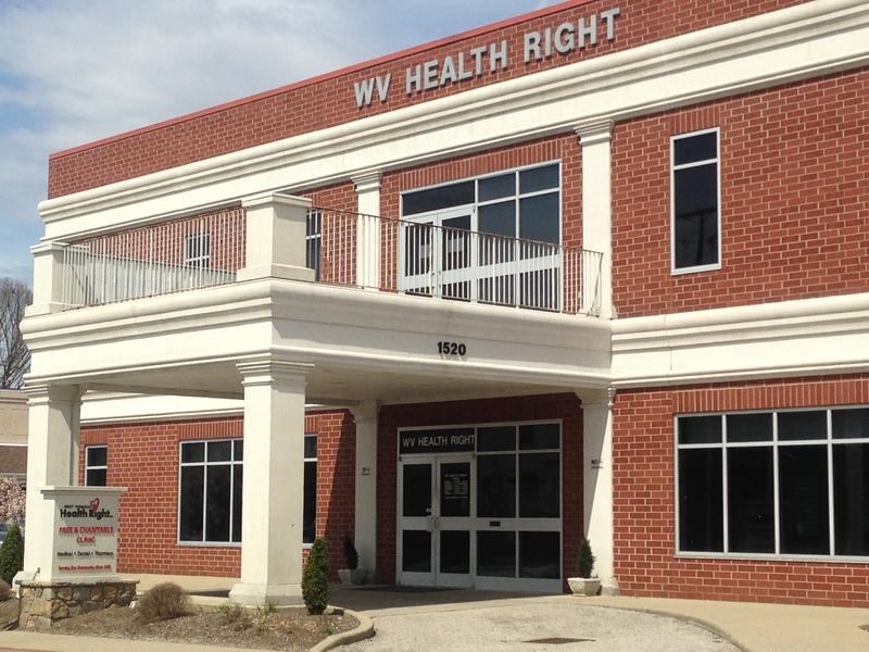 The West Virginia Health Right Clinic is located in Charleston's East End.