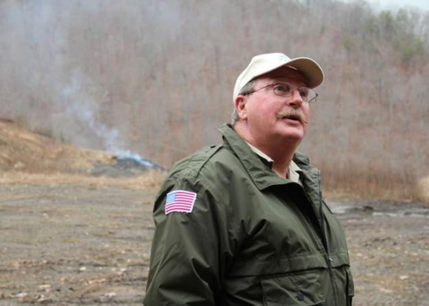 Jim Holliday is a veteran mine inspector in Kentucky.
