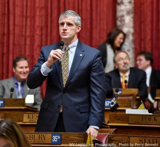 Kanawha County Del. Chris Stansbury was the lead sponsor of a bill to create the Vivitrol pilot program in West Virginia. The bill took effect June 16.