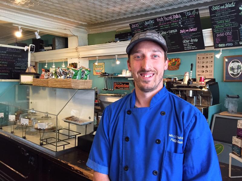 Phil Mastrangelo, owner of Mellow Moods.