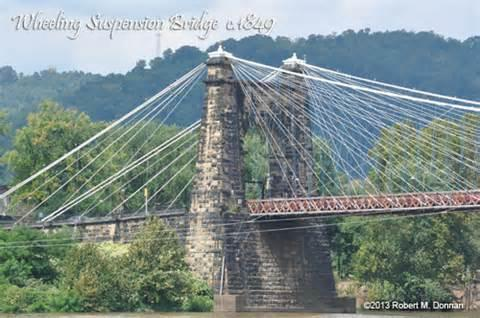 july 28 1860 wheeling suspension bridge reopens to public west