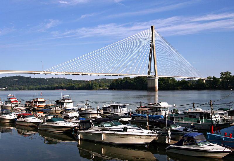 Ohio River near Huntington