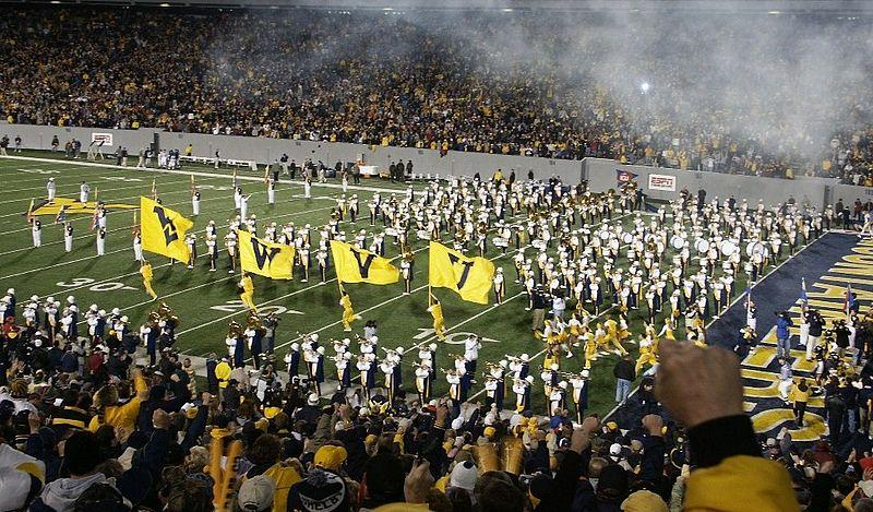 Delicieux WVU Football Entrance