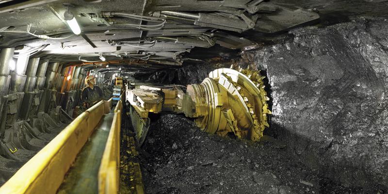 Underground Mine, Miners, Mining