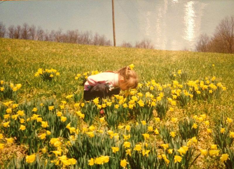 Writer Kaitlen Whitt as a child