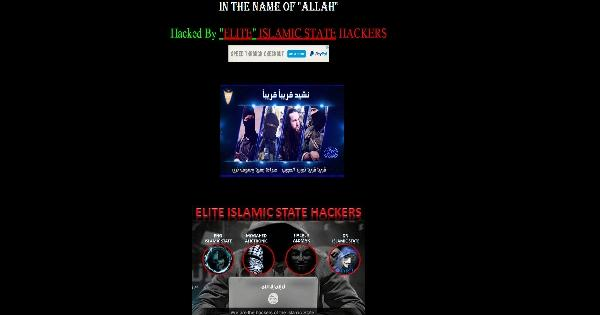 Wayne County Board Site Hacked Islamic Group