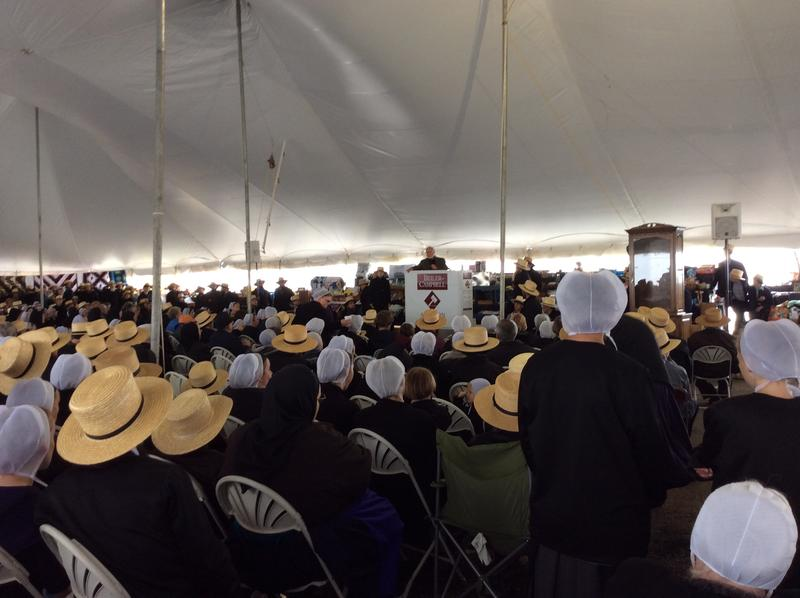 Amish and Mennonite community members gather in support of The Clinic for Special Children