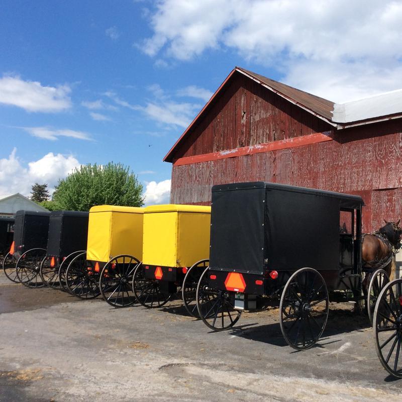 Amish community, Lancaster County, PA