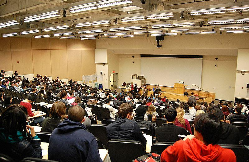 College Class, Lecture Hall