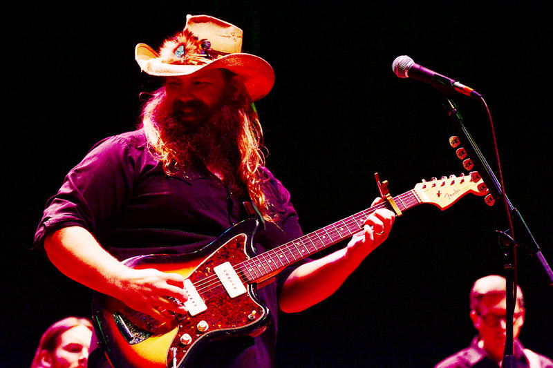Chris Stapleton rocked the top off of Mountain Stage this past June.