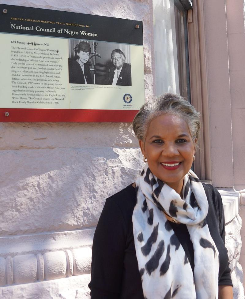Marilyn Johnson, a native of Kanawha County, also serves on the boards of numerous organizations, including the National Council of Negro Women in Washington, D.C.