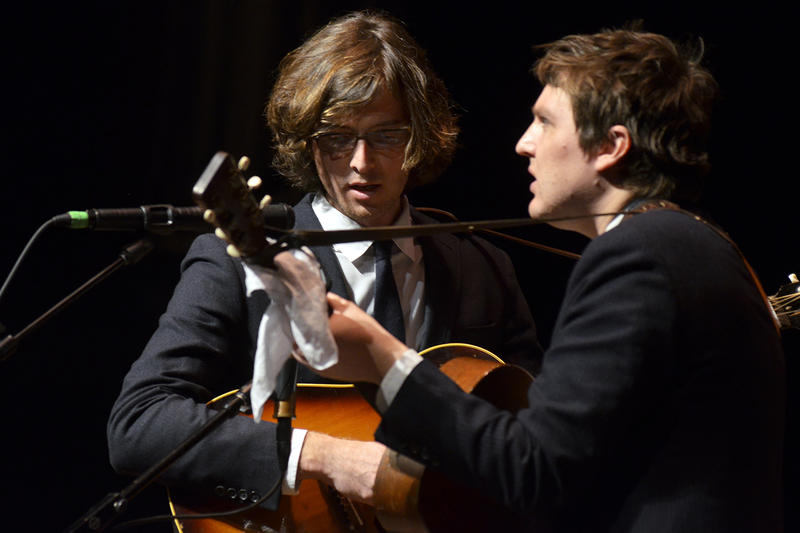 The Milk Carton Kids traveled down to Morgantown, WV for this spring 2016 show.
