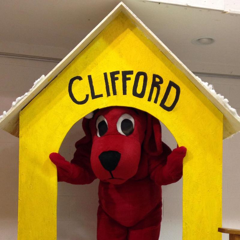 Clifford in his new house.