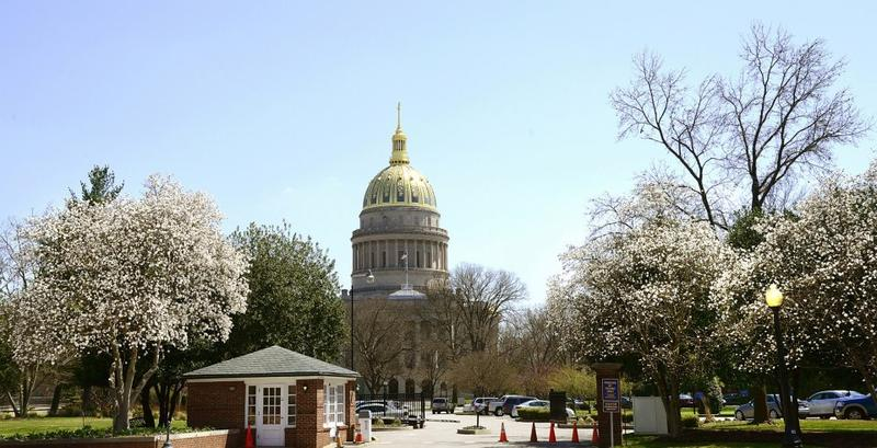 The West Virignia state Capitol.