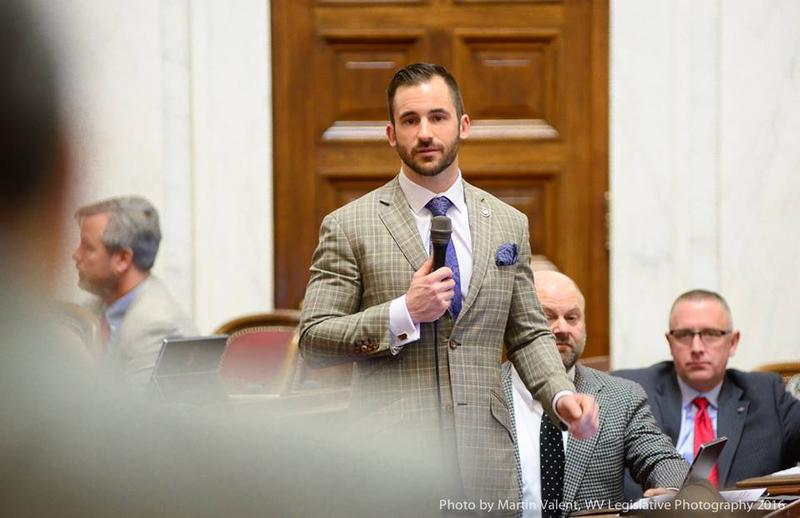 Sen. Ryan Ferns is the lead sponsor of a bill that creates a pilot program to drug test people who receive public assistance.