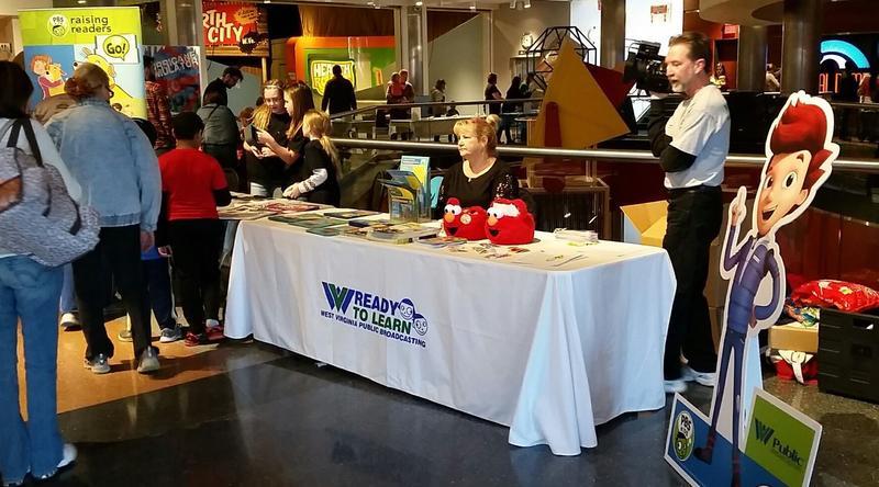 WVPB at Ready Jet Go! Expo