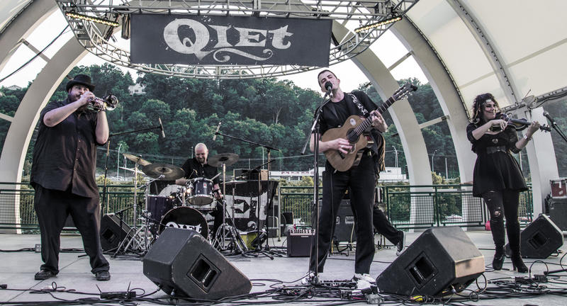 "Qiet will celebrate their new LP ""Kiss of the Universe"" tomorrow night at double album release show."