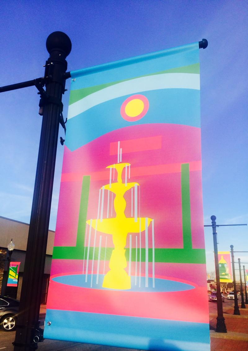 Huntington Street Banner