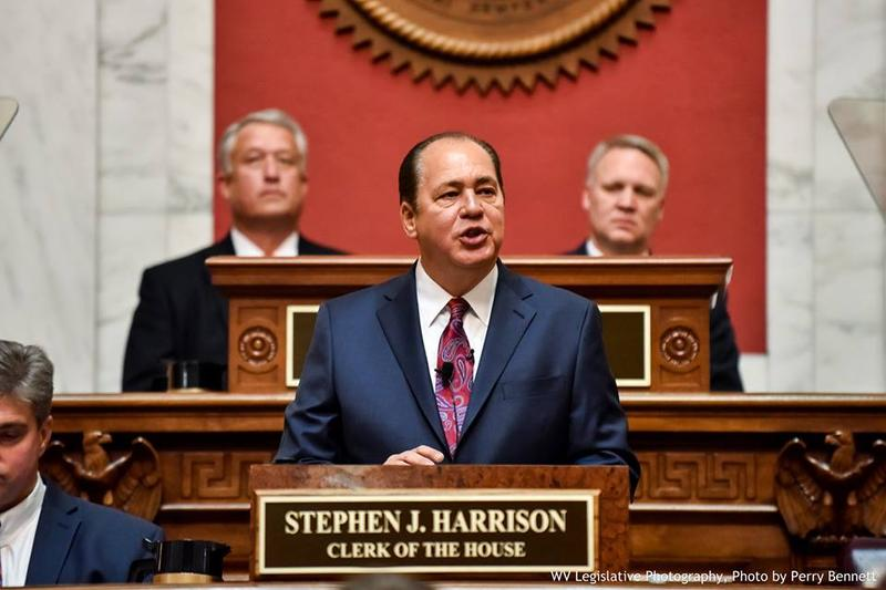 Governor Earl Ray Tomblin during his 2016 State of the State Address.