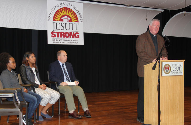 WJU President, Rev. James Fleming, S.J. announced the new program.