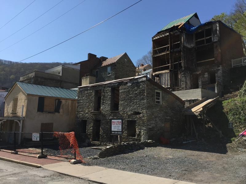 Harpers Ferry, Harpers Ferry Fire, Fire