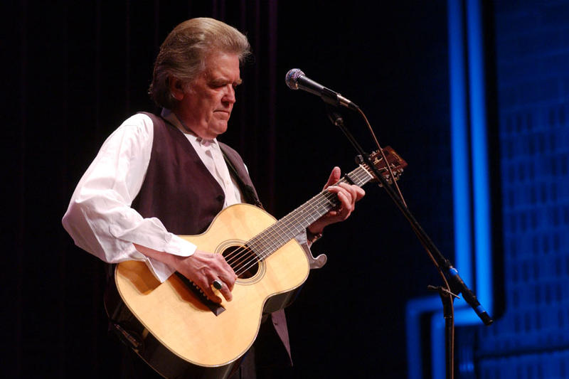 Guy Clark performed on Mountain Stage 12 times since 1985, including this 2003 performance in Charleston.