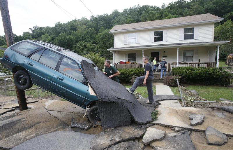 Flood, Greenbrier