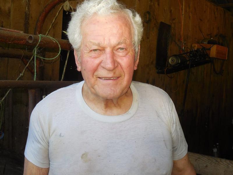 Calvin McCutcheon is a 79-yr-old sheep shearer and a Methodist pastor