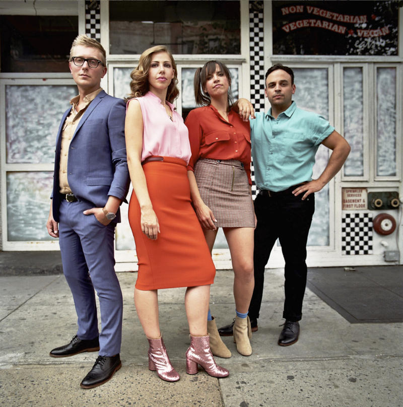 "Hot off the release of their latest ""Side Pony,"" pop-jazz soulsters Lake Street Dive make their 3rd appearance on Mountain Stage this Sunday, June 5."