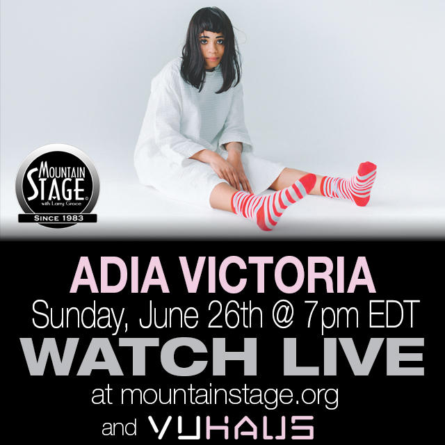 Watch Adia Victoria's Mountain Stage debut LIVE on MountainStage.org.