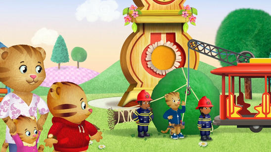 Daniel Tiger's Neighborhood - Clean-Up after a disaster.