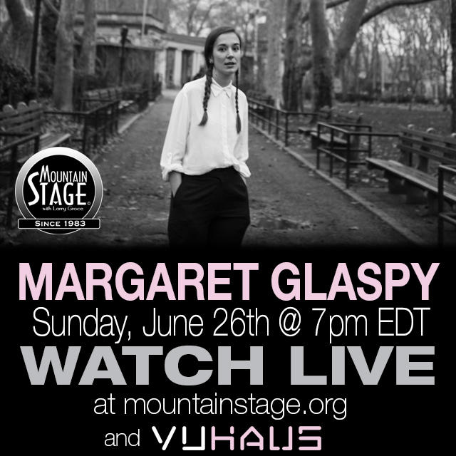 Watch Margaret Glaspy's first appearance on the Mountain Stage LIVE on MountainStage.org.