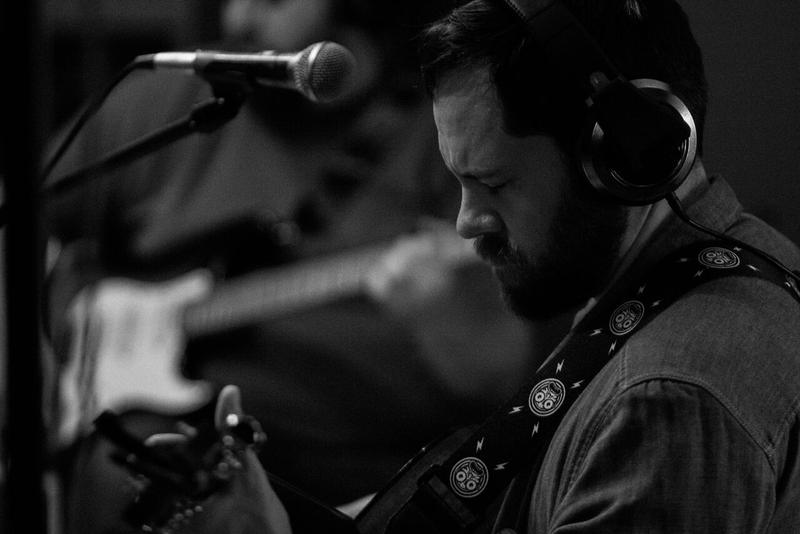 West Virginia native Tim Browning records his band's new record.