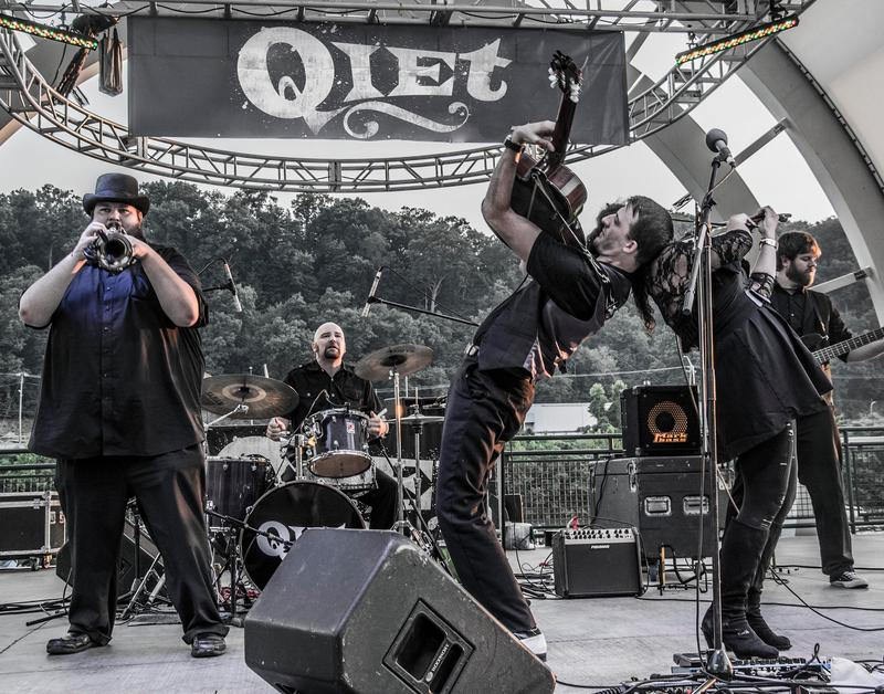 West Virginia based gypsy-rockers Qiet will appear on Mountain Stage alongside Leftover Salmon and Elizabeth Cook on July 31.