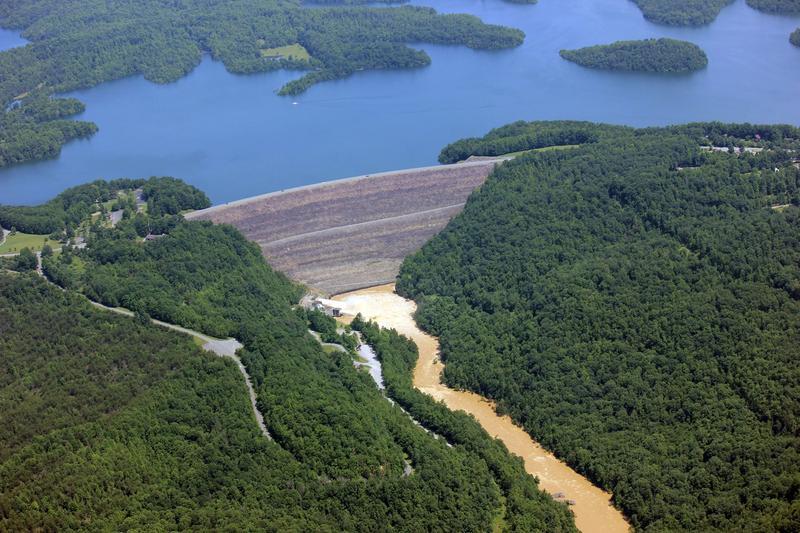 Summersville Dam, Summersville Lake