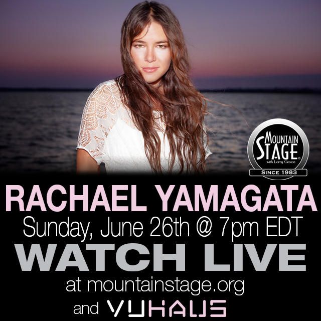 Watch Rachael Yamagata's second appearance on Mountain Stage LIVE on MountainStage.org.