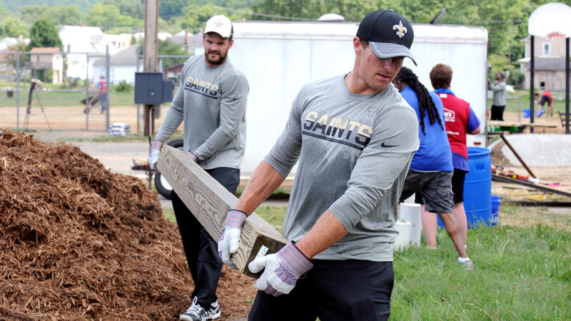 Saints Cleanup Greenbrier County