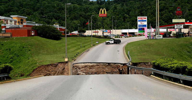 Flood, Elkview