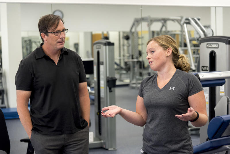Professor James Hannon and doctoral student Annie Machamer talk about some of the research they have done around physical activity and academic performance over the last year.