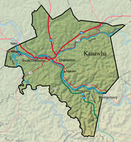 Kanawha and Coal River Watersheds Flood: Sept  29, 1861